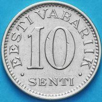 Эстония 10 сентов 1931 год.