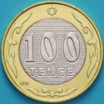 Казахстан 100 тенге 2019 год.