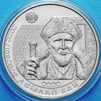 Казахстан 100 тенге 2017 год. Абылай-хан.