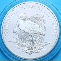 Казахстан 500 тенге 2007 год. Колпица, серебро