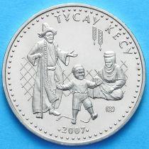 Казахстан 50 тенге 2007 год. Тусау Кесу