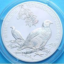 Казахстан 500 тенге 2006 год. Алтайский улар, серебро.