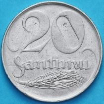 Латвия 20 сантим 1922 год.