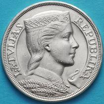 Латвия 5 лат 1931 год. Милда. Серебро.