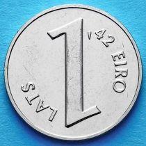 Латвия 1 лат 2013 год. Паритет валют.