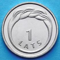 Латвия 1 лат 2009 год. Кольцо Намея.