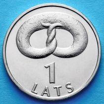 Латвия 1 лат 2005 год. Крендель Клингерис.