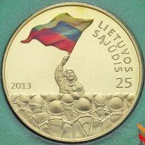 Литва 25 лит 2013 год. Саюдис.
