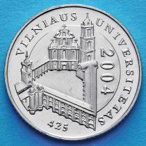 Литва 1 лит 2004 год. Вильнюсский университет.