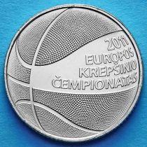 Литва 1 лит 2011 год. Чемпионат Европы по баскетболу.