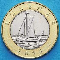 Литва 2 лита 2013 год. Куренас.