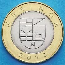 Литва 2 лита 2012 год. Неринга.