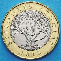 Литва 2 лита 2013 год. Стелмужский дуб.