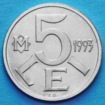 Молдова 5 лей 1993 год.