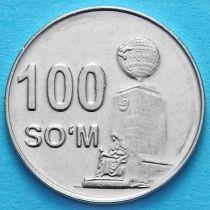 Узбекистан 100 сум 2018 год.